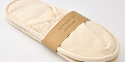 Banner of slippers- square